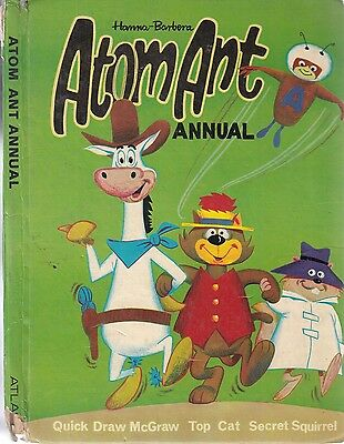 Atom Ant Annual 1968 - Atlas and Distributing Co ltd - Acceptable - Hardcover