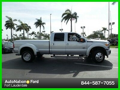 2015 Ford F-450 Lariat 2015 Ford F-450 Platinum Super Duty Lariat Four Wheel Drive loaded
