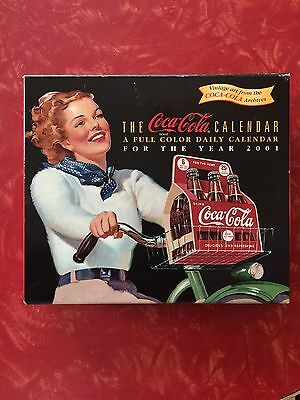 Coke Coca Cola 2001 Dailey Calendar NIB