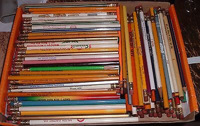 Dealer Lot : 250 Vintage Advertising pencils MD & PA farm Seed Feed Ag Related