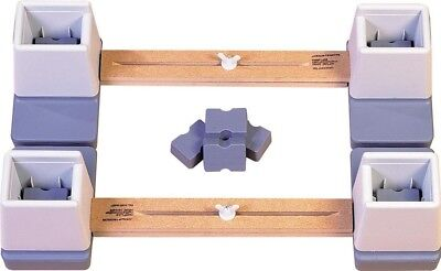 Aidapt Adjustable Height and Width Linked Bed Raiser VG824S
