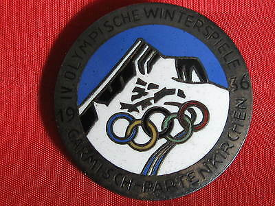 Orig.Old German pin  OLYMPIA 1936 Wintergames