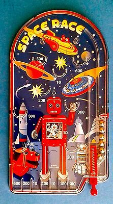 Schylling SPACE RACE Classic Pinball Game - Bagatelle - NEW
