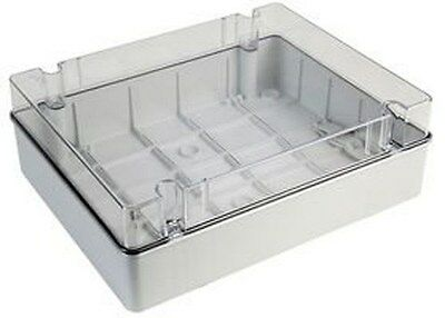 ABS ENC TRANS LID, 380X300X120MM, IP65 GR17286 By CE-TEK B7GC#