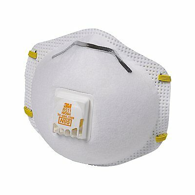 (Closeout) 3M 07185 N95 Particulate Respirator 8511 (Box of 10)