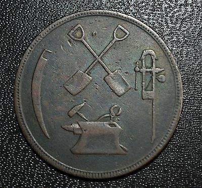 Lower Canada Token, T.S. Brown & Co., LC-15A3, VF-20
