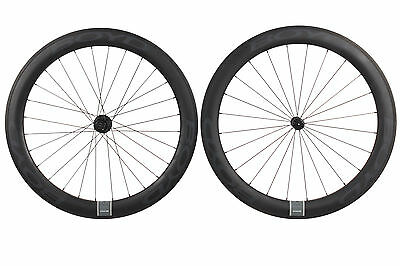 Boyd Cycling 60mm Carbon Tubular Road Bike Wheel Set 700c 11s Shimano QR