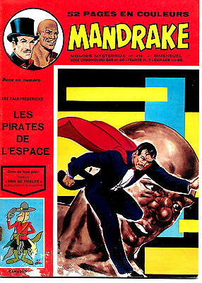 Mandrake N°414 - Editions des Remparts - 25-11-1973 - ABE
