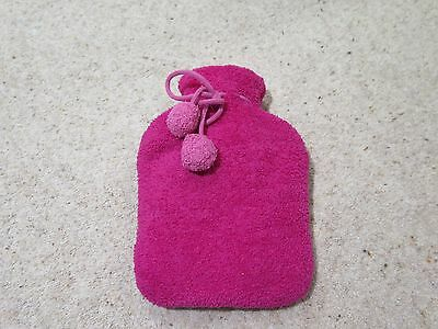 Small Pink Hot Water Bottle