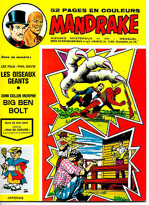 Mandrake N°421 - Editions des Remparts - Août 1974 - ABE