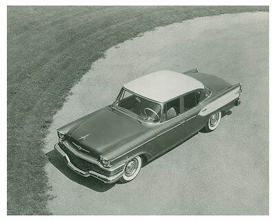 1957 Studebaker President Automobile Factory Photo ch4620