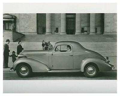 1937 Studebaker President Coupe Automobile Factory Photo ch4618