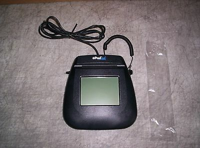 Interlink Epad Ink Signature Capture Tablet with New Stylus USB 54-64111 Good