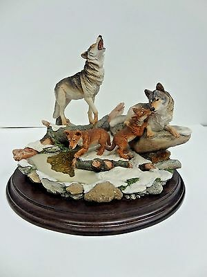 Country Artists First Ice of Winter Figurine CA649 Limited Edition - England