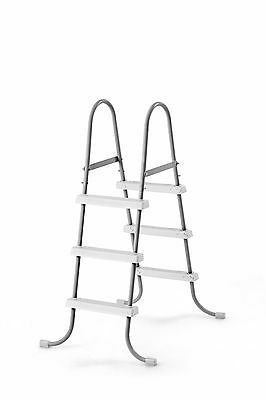 """Intex Steel Frame Above Ground Swimming Pool Ladder for 42"""" Wall Height Pools"""