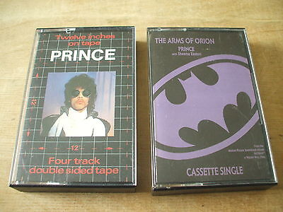 Prince - When Doves Cry / The Arms Of Orion Cassette Singles