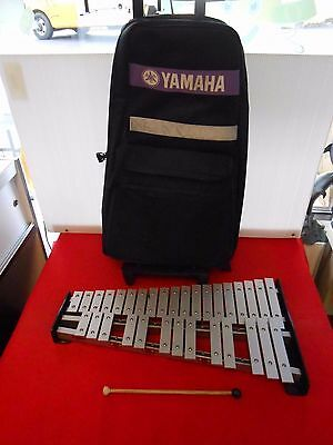 Yamaha Spk 275 32 Key Xylophone W/ Yamaha Carrying Case & Mallet Great Shape Wow