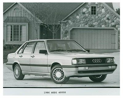 1986 Audi 4000S Automobile Factory Photo ch4705