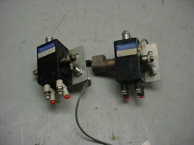 Lot Of (2) Rotomation A032190Tcd37A10.322 Rotary Actuators