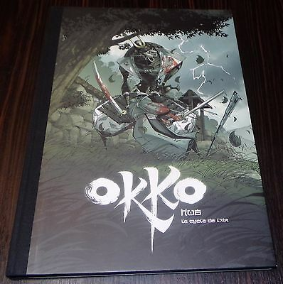 TT Tirage de Luxe  OKKO Le Cycle de l'air  - HUB - Ed. Bruno GRAFF + 3 ex libris