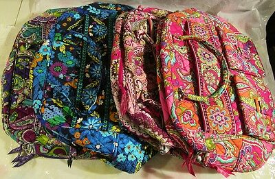 VERA BRADLEY Grand Cargo Bag Travel Vacation College Luggage