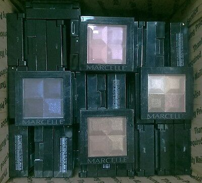Mixed Wholesale Lot of 60 Marcelle Eye Shadow Quads