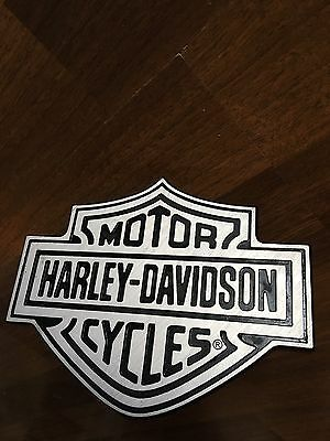 Harley Davidson Hitch Cover Plug Plastic Nice Shape With Basic Wear