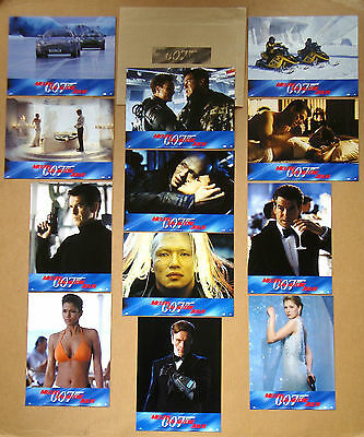 DIE ANOTHER DAY James Bond 007 PIERCE BROSNAN Set of 12 French LOBBY CARDS