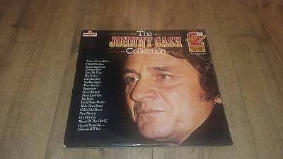 "Johnny Cash "" The Collection Greatest Hits Ex "" Double Lp 33 Rpm"