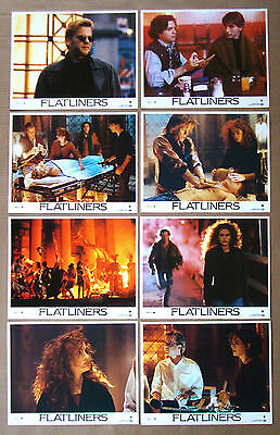 FLATLINERS Kevin Bacon KIEFER SUTHERLAND Julia Roberts 11x14 LOBBY CARD SET of 8