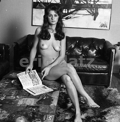 960's Ron Vogel Negative, gorgeous nude brunette pin-up girl Kori Flam, t922920