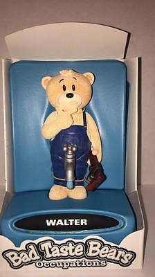Bad Taste Bears Occupations -Walter- Collectibles with Attitude Figure