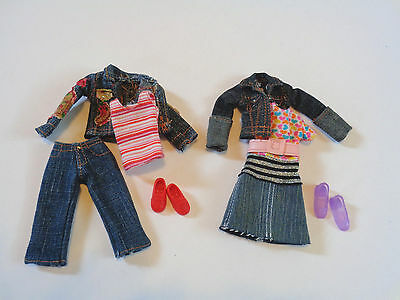"""Modern 8"""" Stacie Skipper Doll 2 Cute Outfits With Shoes EUC"""
