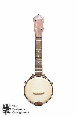 The Gibson Antique Banjo Ukulele UB-1 1930s Banjojele Instrument String Uke