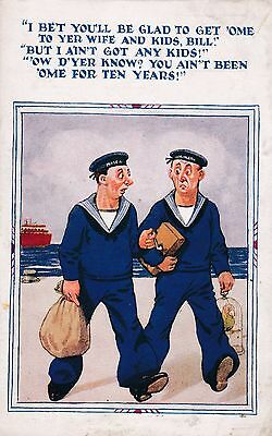 Sailors Going Home....to Surprises? HUMOUR (1933)