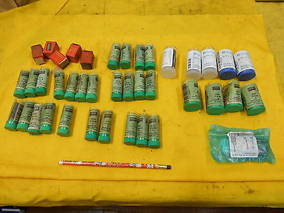 HUGE LOT of NEW HARDINGE COLLET PADS automatics screw machine B3 B6 B10