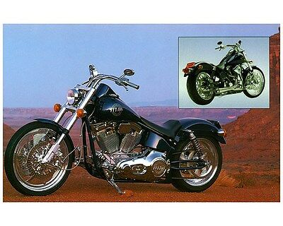 1998 1999 Titan Gecko RM Motorcycle Factory Photo ca7252
