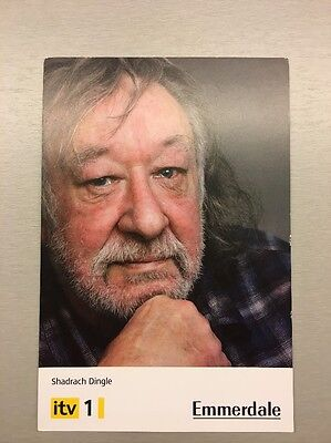 Emmerdale Cast Card - Shadrach Dingle - Andy Devine