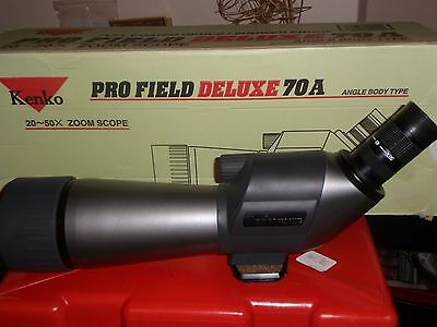Kenko PF-70a DX Scope 20-50 Spotting Scope and Slik tripod Pro 400 DX