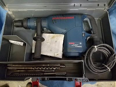 Bosch hammer 11235EVS SDS-max Rotary Demolition Hammer Drill Tool with bits