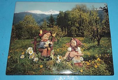"""Hummel Seasons Celebration First Issue Plate Plaque 2000 about 7""""x9"""" Children"""