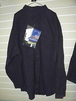 Genuine 5.11 Mens Tactical Shirt 3Xl Long Sleeve Nylon Ripstop 72158 Navy Nwt