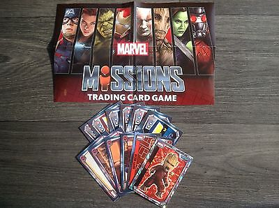 Topps Marvel Missions Trading Cards 5 Cards For £1 Choose From List Brand New