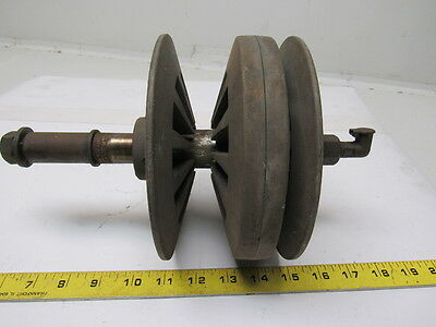 """DoAll/Speedmaster Vintage 7"""" OD Variable Speed Double Pully Assembly"""