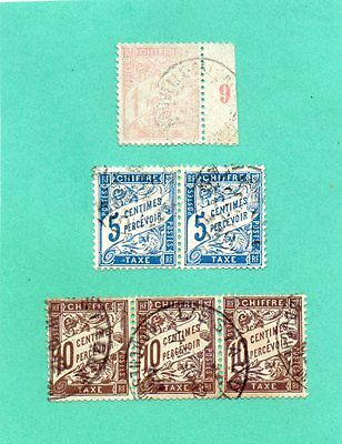 Timbres France Taxes N°39+28/29.tb .cote 527.00