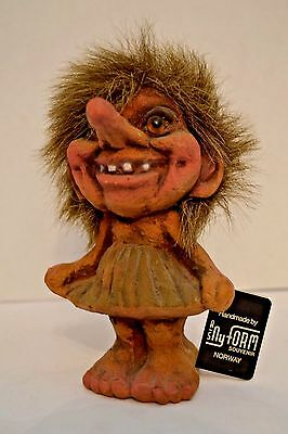 ORIGINAL NY FORM TROLL GIRL NORWAY MAGICAL FOLKLORE DRESS UNIQUE With TAG