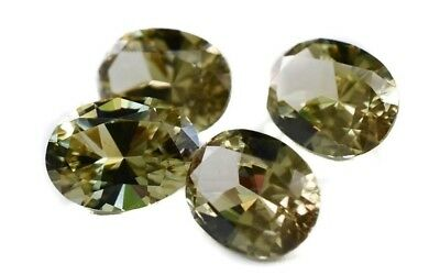 4.4 Cttw Zultanite Natural Loose Gem Set 7.5x6mm Precision Oval Cert Auth F004