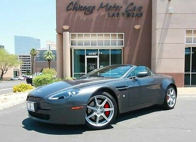 2008 Aston Martin Vantage Base Convertible 2-Door 2008 Aston Martin Vantage V8 Convertible  Satellite Nav! Only 16k Miles! LOADED