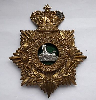 Gloucestershire Regiment Helmet Plate 100% Original Sold with Full Guarantee