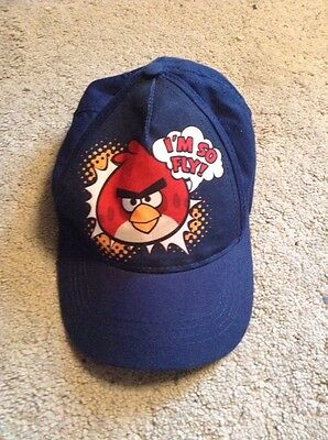 New Boys Angry Bird Cap 8-12 Year Old